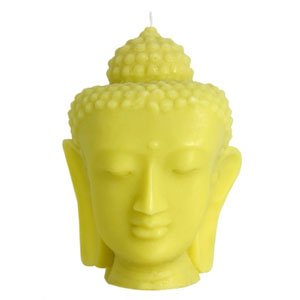 Citron Buddha candle by Blisslivinghome.com