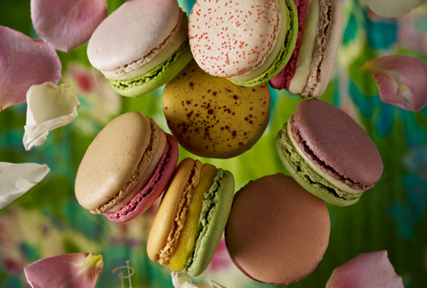 "Pink Macaron in the new collection ""Les Jardins"" by Pierre Herme"